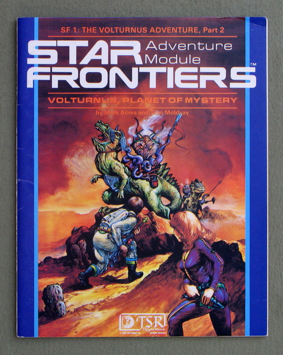 Image for Volturnus, Planet of Mystery (Star Frontiers Module SF1)