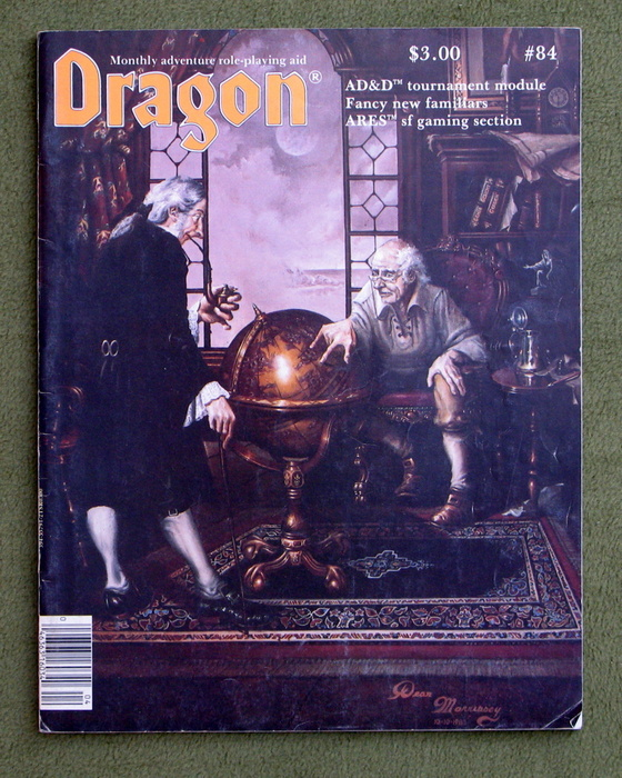 Image for Dragon Magazine, Issue 84