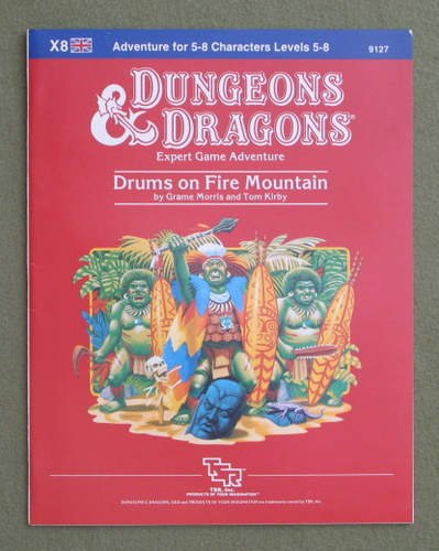 Image for Drums on Fire Mountain (Dungeons and Dragons Module X8)