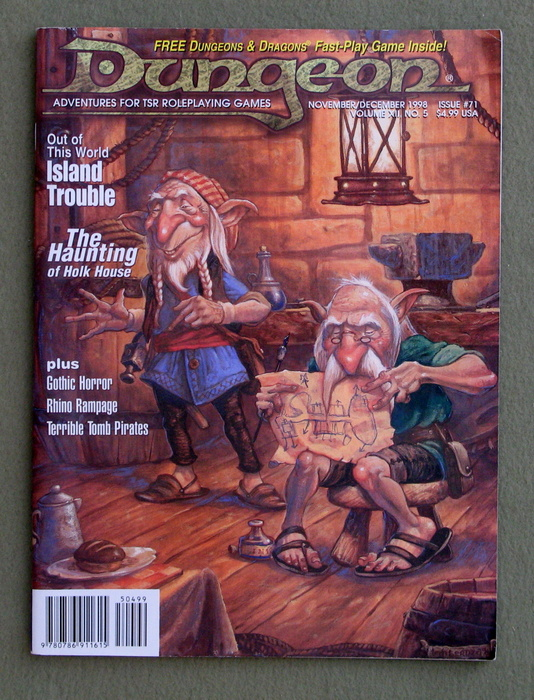 Image for Dungeon Magazine, Issue 71