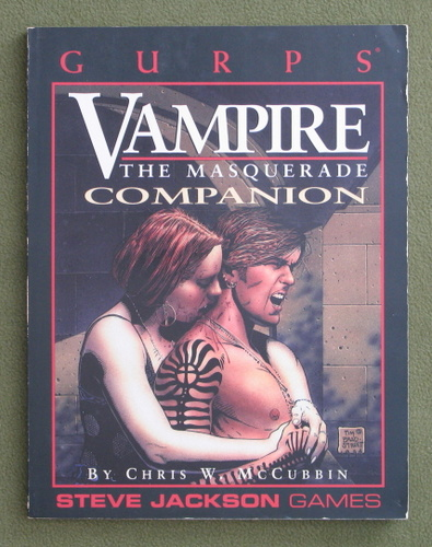 Image for GURPS Vampire: The Masquerade Companion