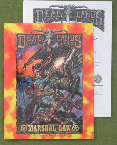 Image for Marshal Law, 1st printing (Deadlands)