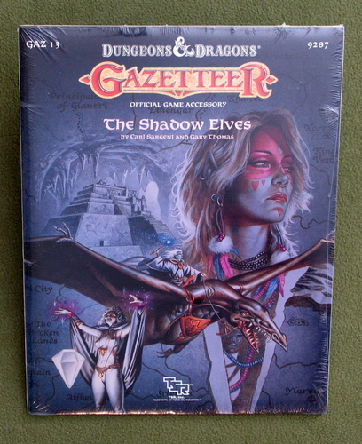 Image for The Shadow Elves (D&D Gazetteer GAZ13) - SHRINKWRAP