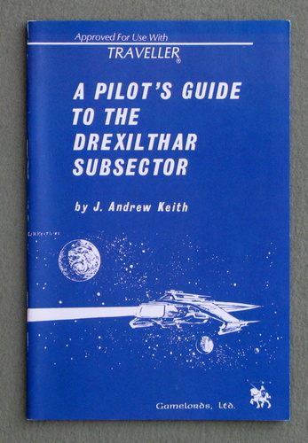 Image for A Pilot's Guide to the Drexilthar Subsector (Traveller)