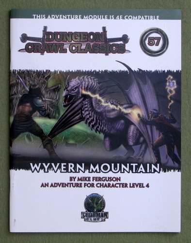 Image for Wyvern Mountain (Dungeon Crawl Classics 57)