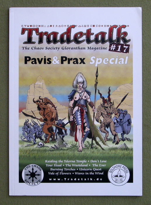Image for Tradetalk, Issue 17 (The Chaos Society Magazine: Glorantha, Hero Wars, HeroQuest, RuneQuest)