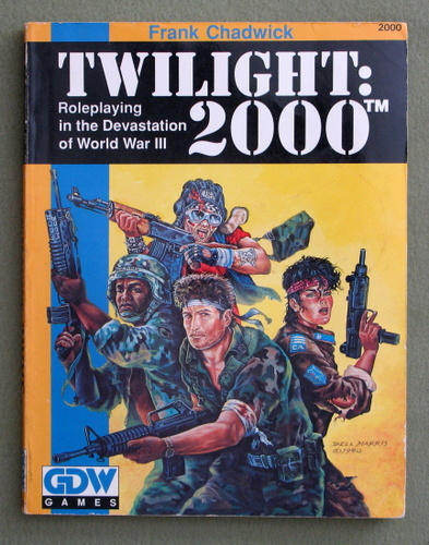 Image for Twilight: 2000, 2nd edition: Roleplaying in the Devastation of World War III - PLAY COPY