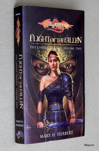 Image for Flight of the Fallen (Dragonlance: Linsha Trilogy, Vol. 2)