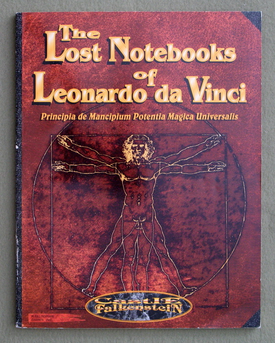 Image for Lost Notebooks of Leonardo da Vinci (Castle Falkenstein)