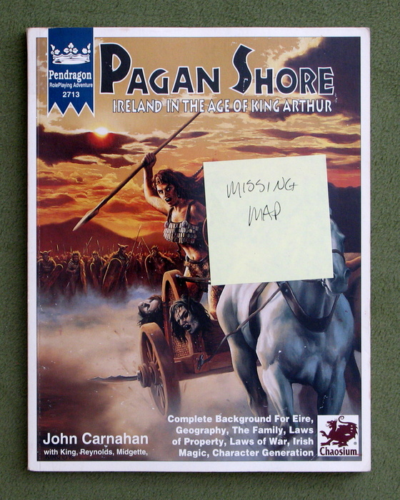 Image for Pagan Shore: Ireland in the Age of King Arthur (Pendragon) - MISSING MAP
