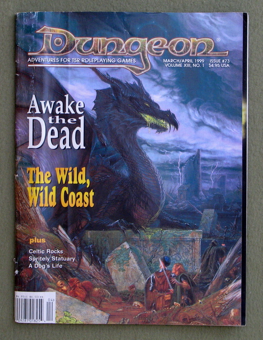 Image for Dungeon Magazine, Issue 73 - READING COPY