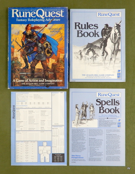 Image for Runequest 3rd (Standard Edition)