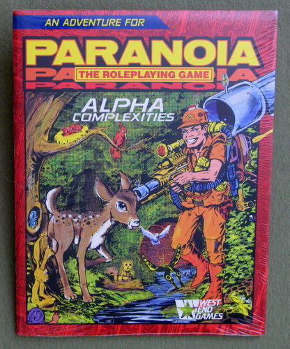Image for Alpha Complexities (Paranoia: The Roleplaying Game)