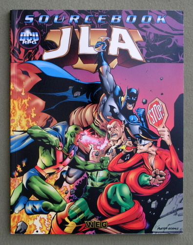 Image for JLA Sourcebook (DC Universe)