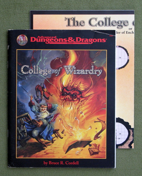 Image for College of Wizardry (Advanced Dungeons & Dragons/AD&D Accessory)