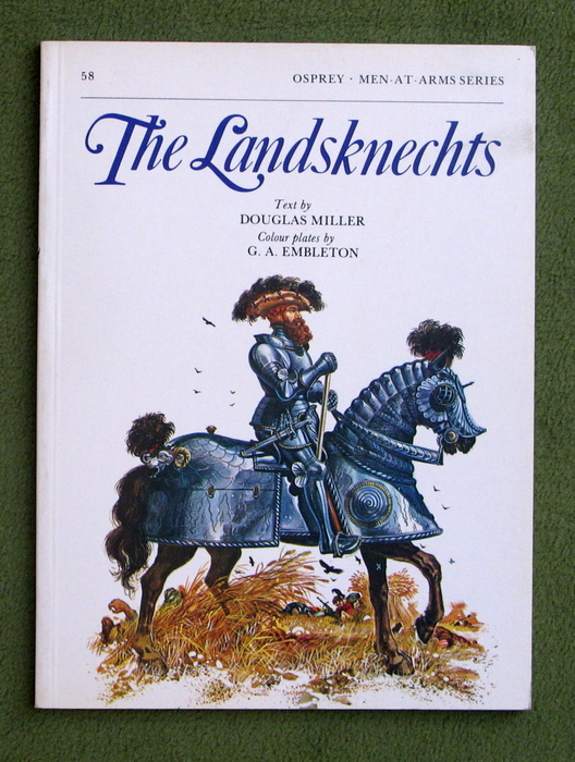 Image for The Landsknechts (Men-At-Arms Series, 58)