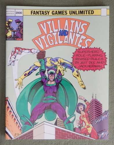Image for Villains & Vigilantes (Revised Edition)