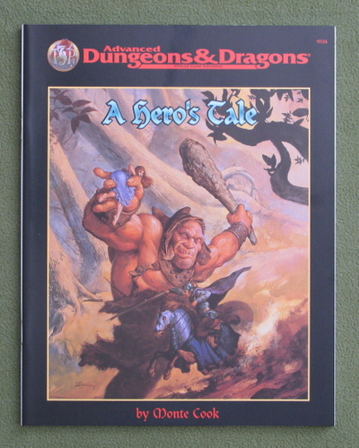 Image for A Hero's Tale (Advance Dungeons & Dragons)