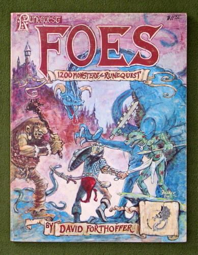 Image for Runequest: Foes