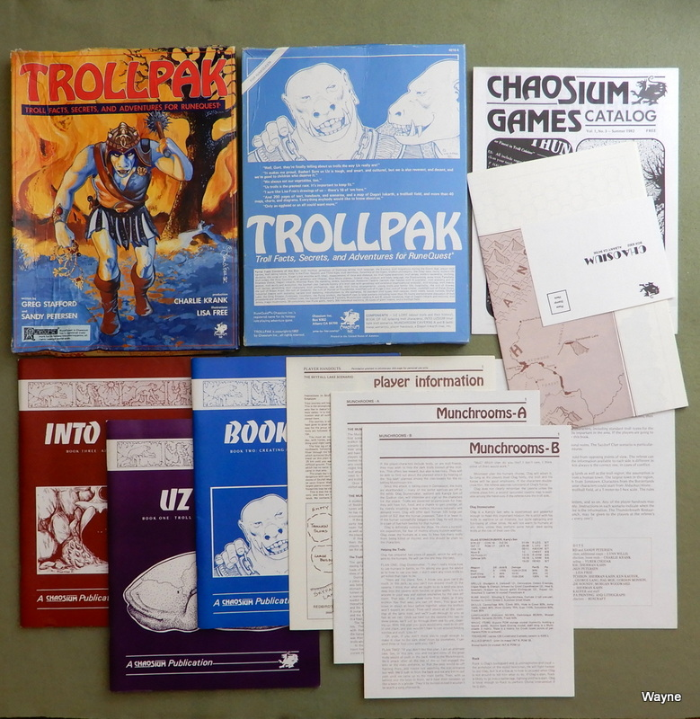 Image for Trollpak: Troll Facts, Secrets and Adventures for Runequest - BOX DAMAGED