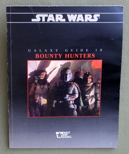 Image for Galaxy Guide 10: Bounty Hunters (Star Wars RPG)