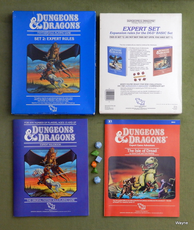 Image for Dungeons and Dragons: Expert Rules, Set Two (Revised)