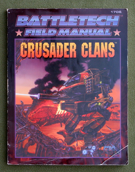 Image for Battletech Field Manual: Crusader Clans - PLAY COPY