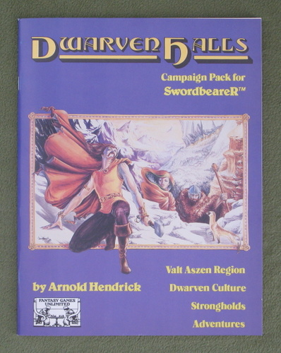 Image for Dwarven Halls Campaign Pack (Swordbearer RPG)