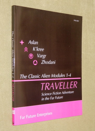 Image for Traveller: Classic Alien Modules 1-4