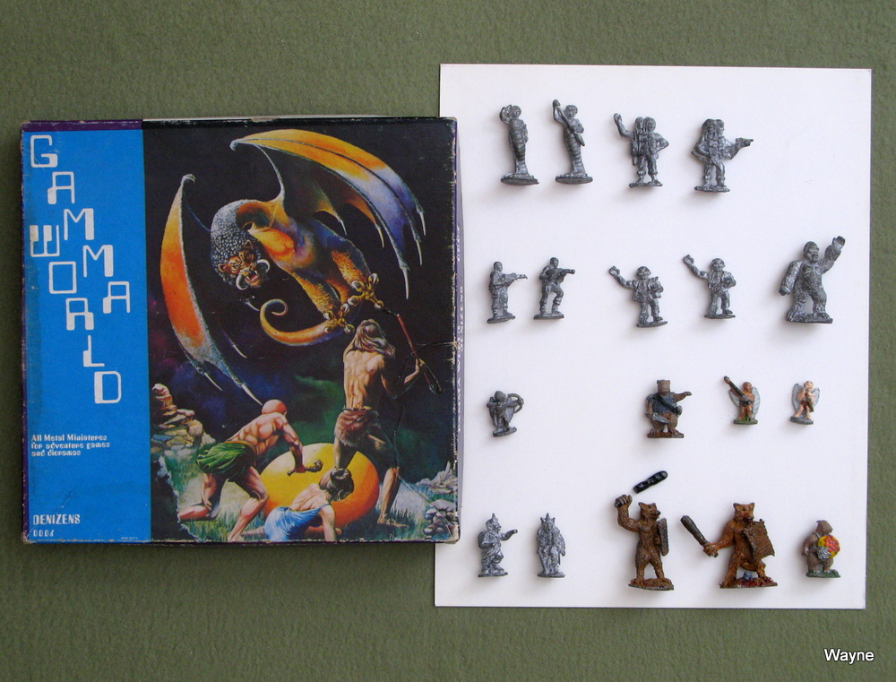 Image for Gamma World Metal Miniatures: Denizens