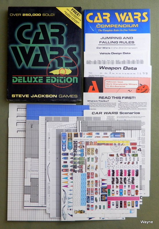 Image for Car Wars: Deluxe Edition (2nd Edition)
