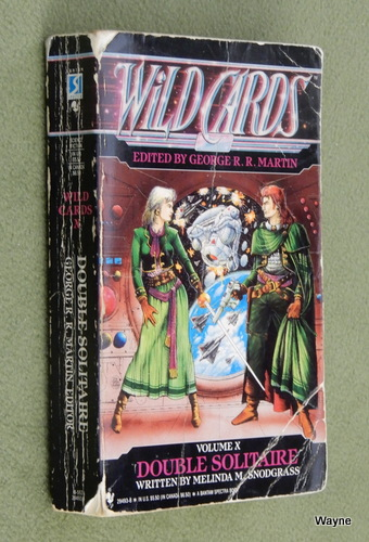 Image for Double Solitaire (Wild Cards, No 10) - Reading copy