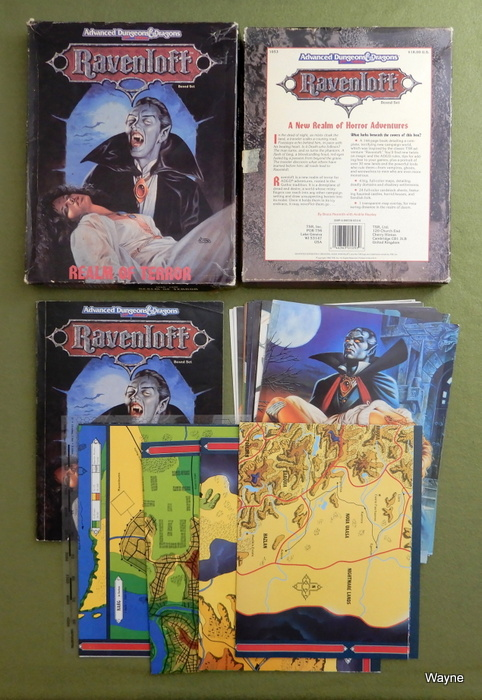 Image for Ravenloft: Realm of Terror (AD&D) - WORN PLAY SET