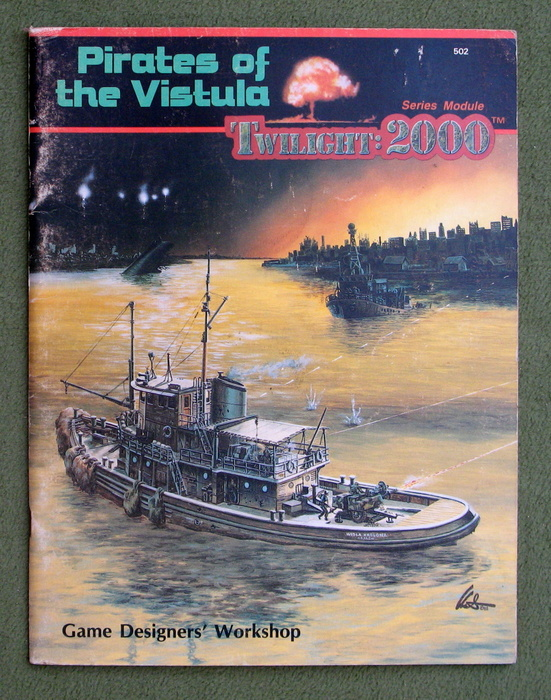 Image for Pirates of the Vistula (Twilight: 2000) - PLAY COPY