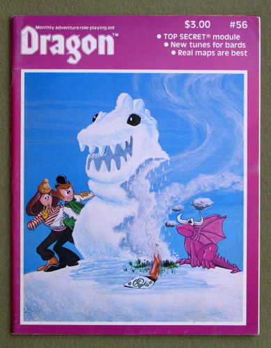 Image for Dragon Magazine, Issue 56