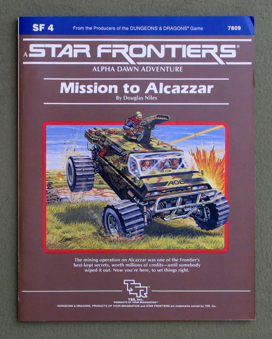 Image for Mission to Alcazzar (Star Frontiers Module SF4)