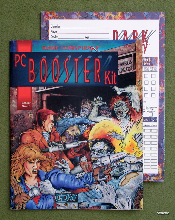 Image for PC Booster Kit (Dark Conspiracy RPG)
