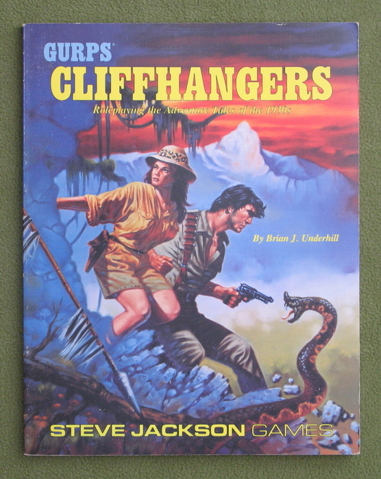 Image for GURPS Cliffhangers (1st Edition)
