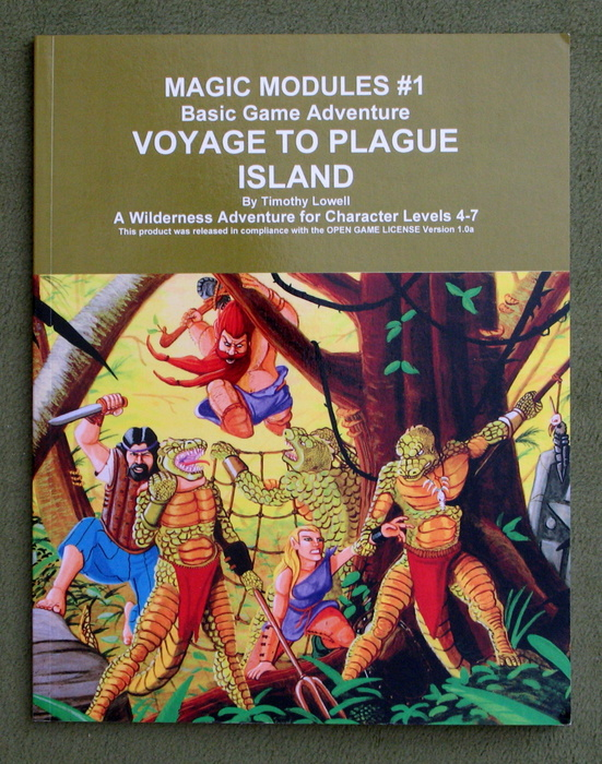 Image for Voyage to Plague Island: Magic Modules #1 (Basic Game Adventure)
