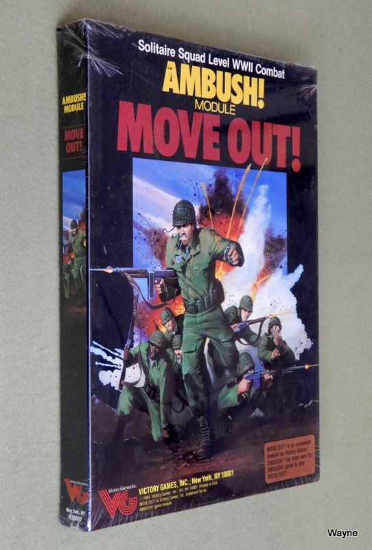 Image for Ambush! Module: Move Out! (Solitaire Squad Level WWII Combat)