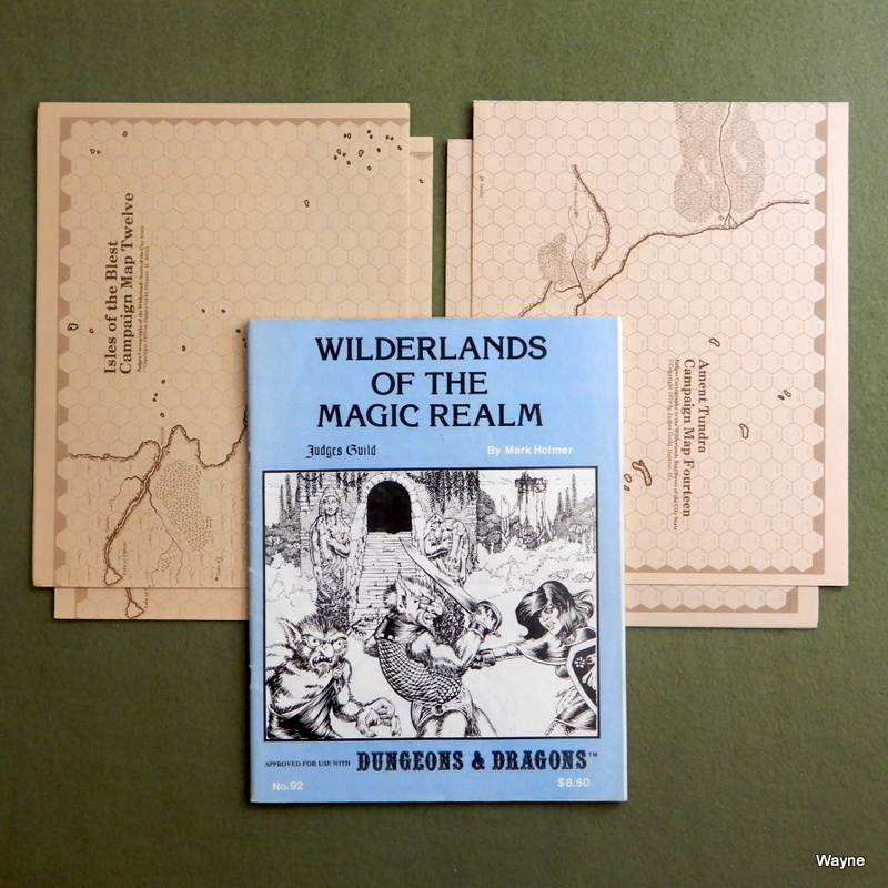 Image for Wilderlands of the Magic Realm: Approved for use with Dungeons & Dragons