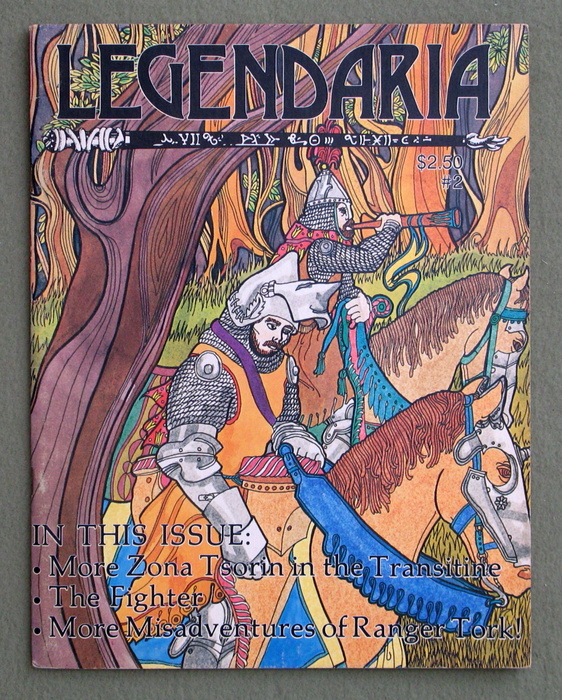 Image for Legendaria Magazine, Issue #2