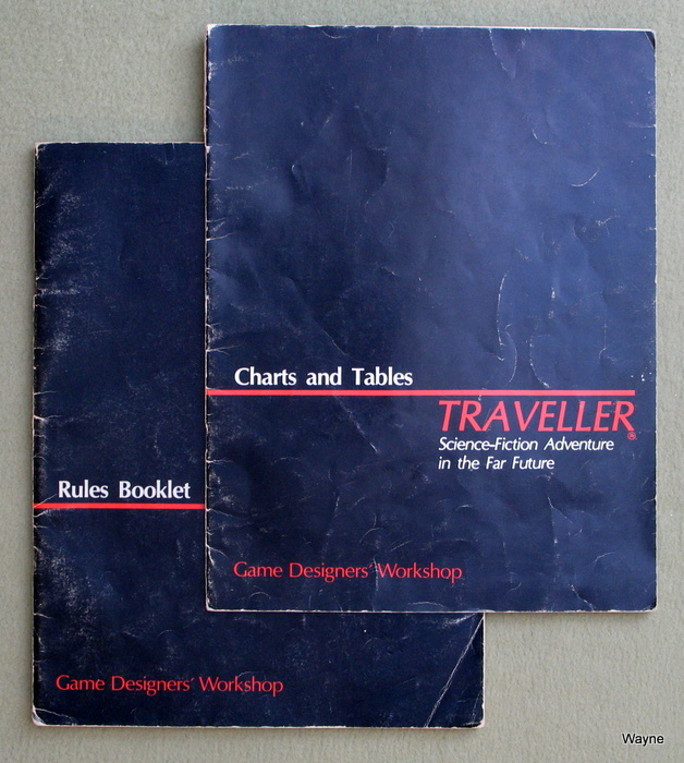 Image for Traveller: Rules Booklet / Charts and Tables booklet - PLAY COPY