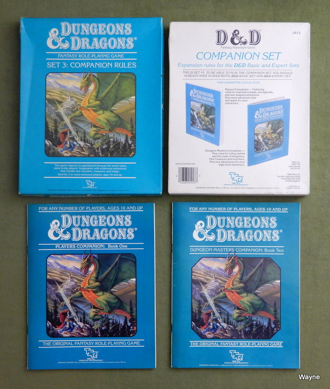 Image for Dungeons and Dragons: Companion Rules (Set 3)
