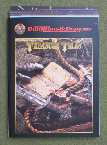 Image for Treasure Tales (Advanced Dungeons & Dragons)