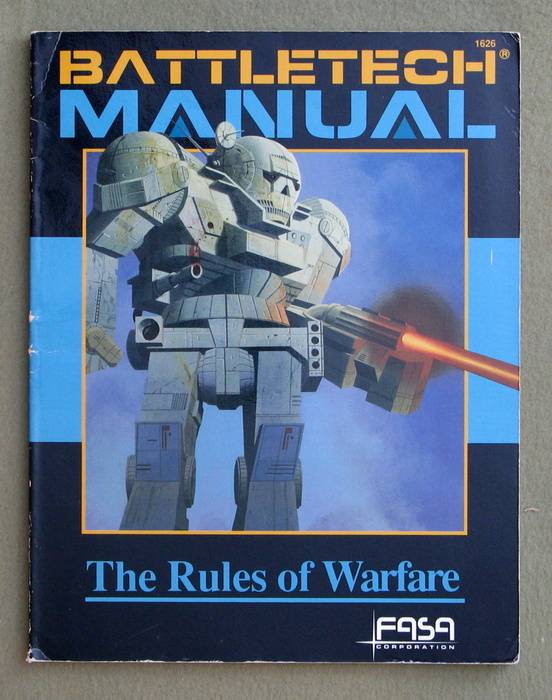 Image for Battletech Manual: The Rules of Warfare