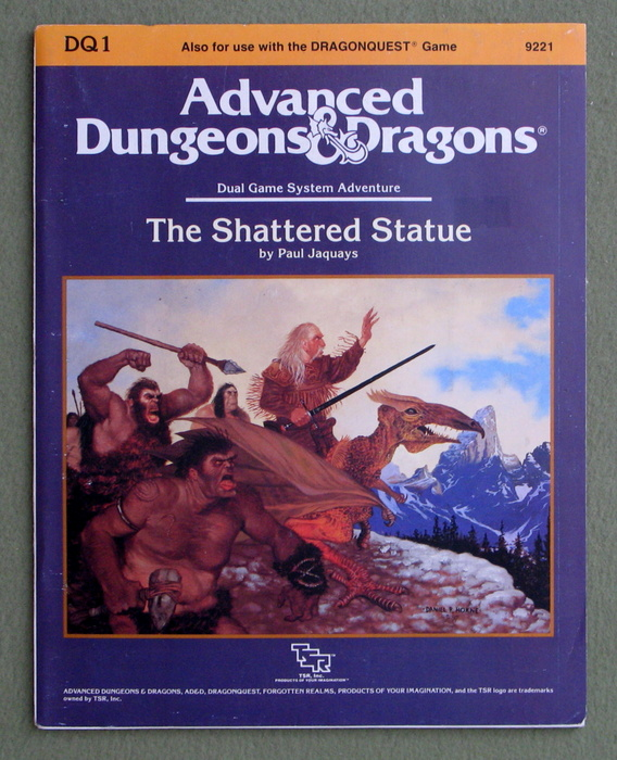 Image for The Shattered Statue (Advanced Dungeons and Dragons/Dragonquest Module DQ1)