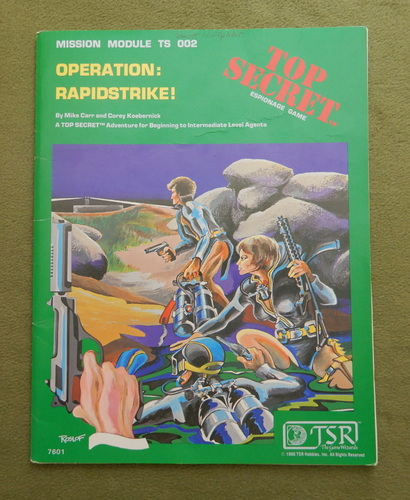 Image for Operation: Rapidstrike! (Top Secret TS002) - PLAY COPY