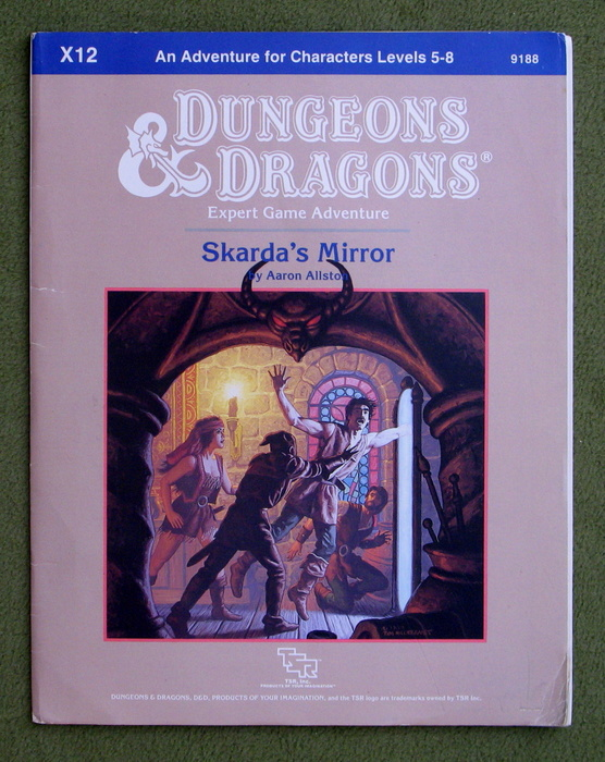 Image for Skarda's Mirror (Dungeons & Dragons Module X12) - PLAY COPY