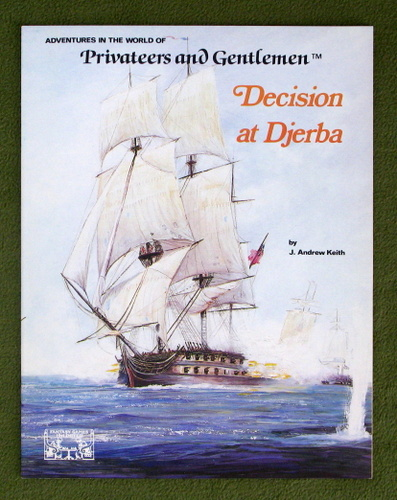 Image for Decision at Djerba (Privateers and Gentlemen)